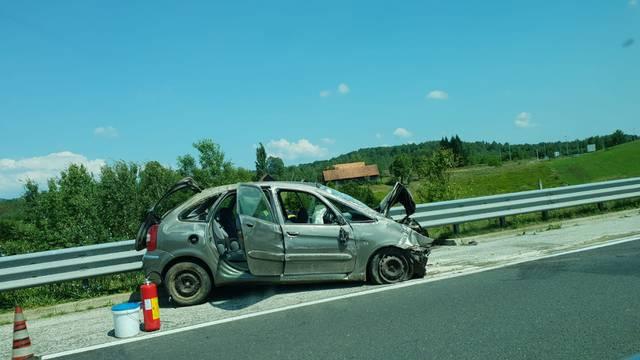 Zbog nesreće na A1 kod čvora Novigrad vozi se u dugoj koloni