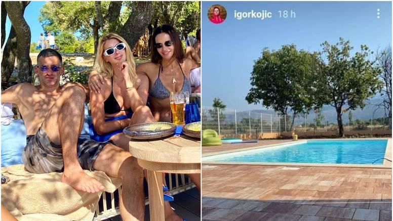 Seve partija s kolegom kojeg je ljubila, Igor objavio fotografiju bazena zbog kojeg su se svađali