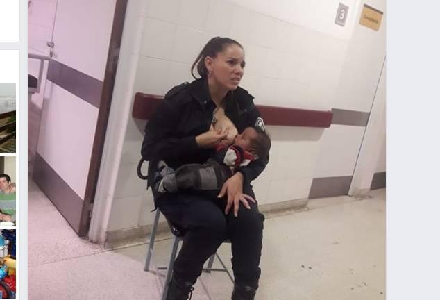 Policajka junakinja: U bolnici je dojila dijete koje nije njezino