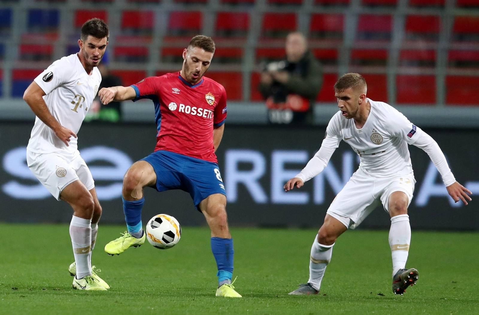 Europa League - Group H - CSKA Moscow v Ferencvaros