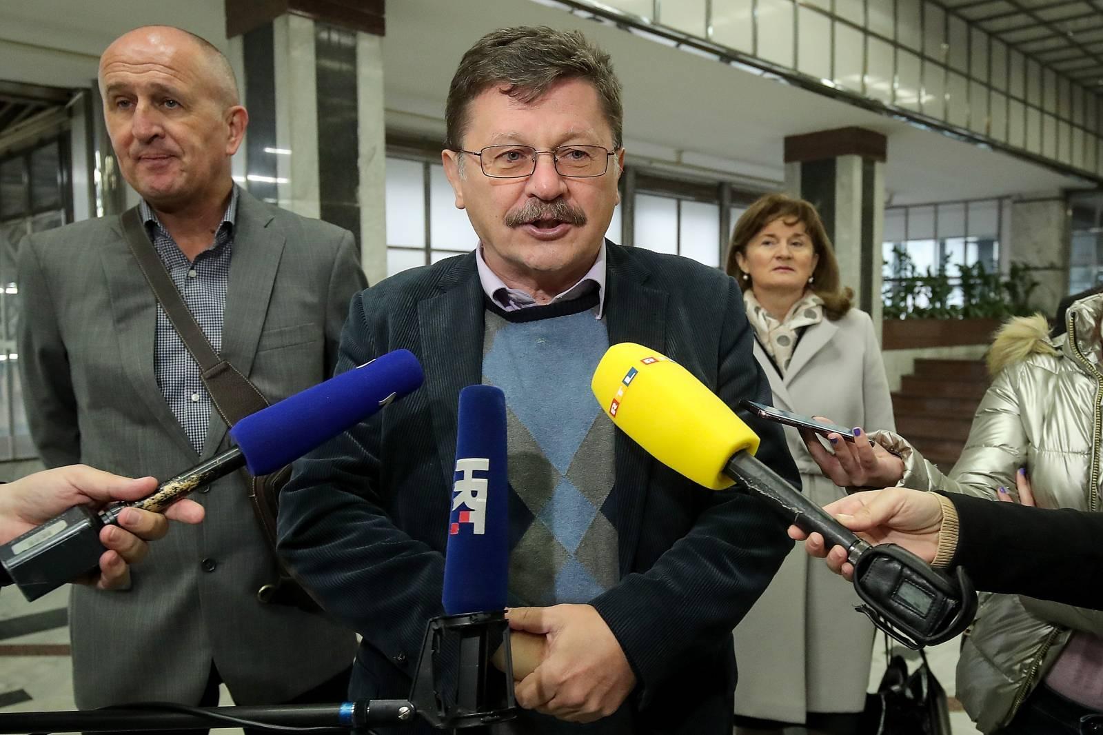 Zagreb: Sastanak pregovaračkih odbora Vlade i sindikata javnih službi