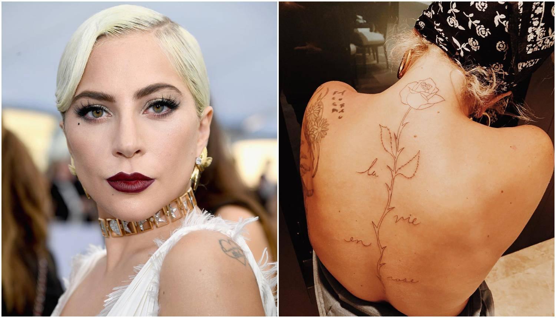 Lady GaGa provela Valentinovo na tetoviranju, ali ne s dečkom