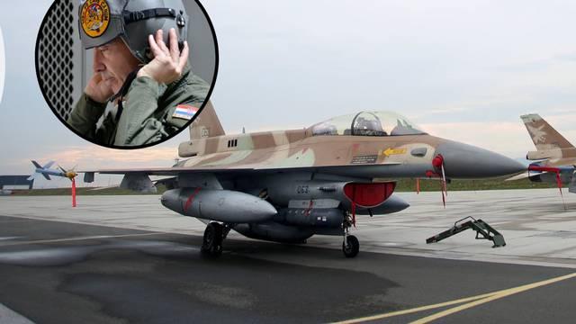 Hrvatska ima i plan B: Deset zrakoplova F-16 iz Amerike...
