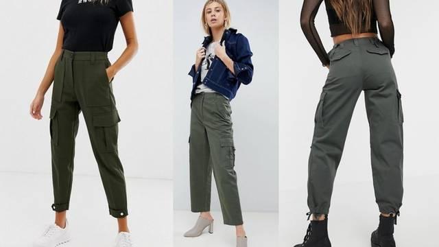 Hit za proljeće: Maslinaste hlače inspirirane retro army stilovima