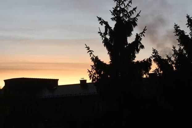Zagreb i Sisak 'probudili' su se s prekrasnim izlaskom sunca...