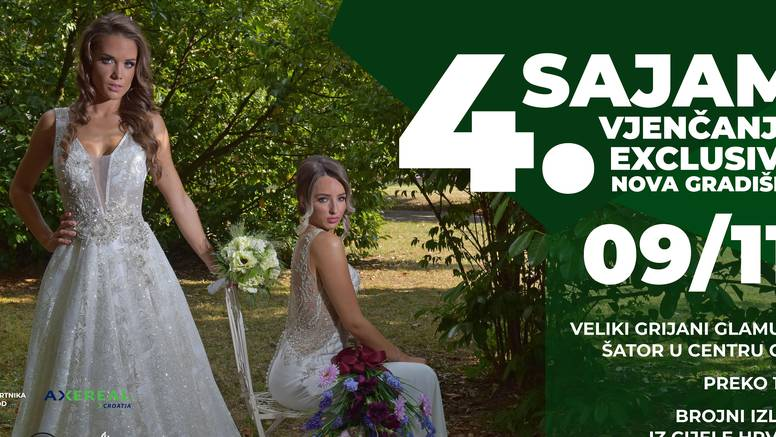 U sklopu 4. Sajma vjenčanja održava se i gala modna revija
