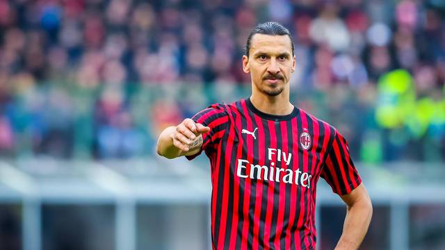 italian Serie A soccer match AC Milan Italian soccer Serie A season 2019/20