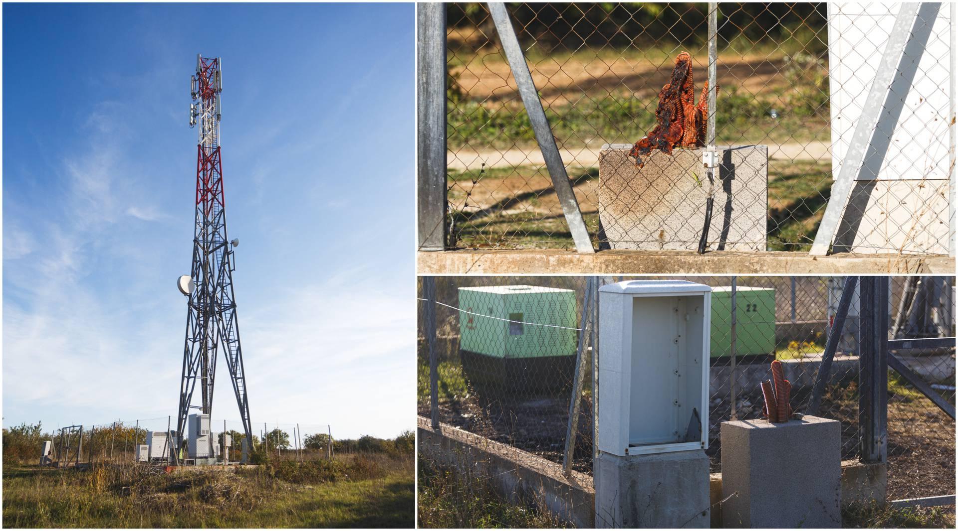 Zapalili repetitor u Škabrnji: Teoretičar zavjere mislio je da uništava 5G mrežu?