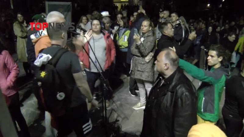 Novi prosvjedi u Ljubljani protiv covid potvrda i cijepljenja