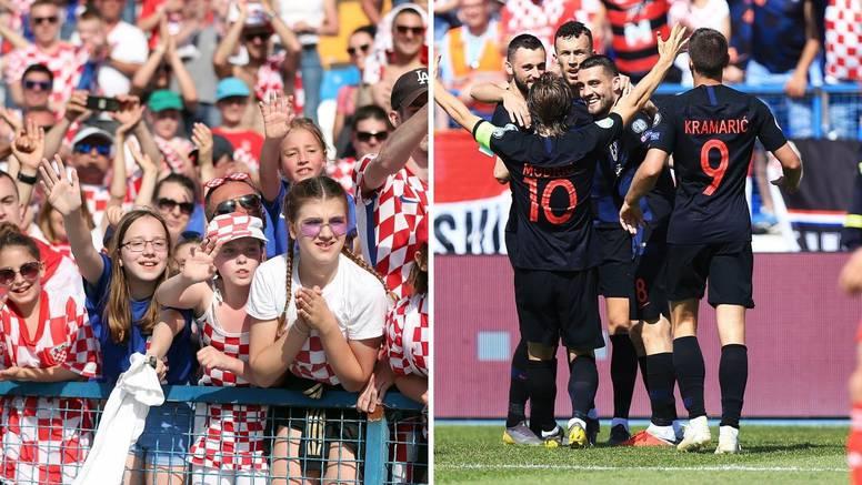 'Vatrena' podrška s tribina: Već je prodano 11.000 ulaznica za utakmicu Hrvatske u Osijeku