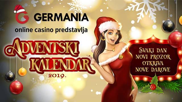Otvorite Germania Adventski online casino kalendar!
