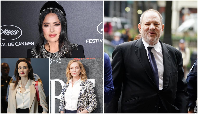 Jolie, Hayek i Thurman: Ove su žene srušile titana Weinsteina