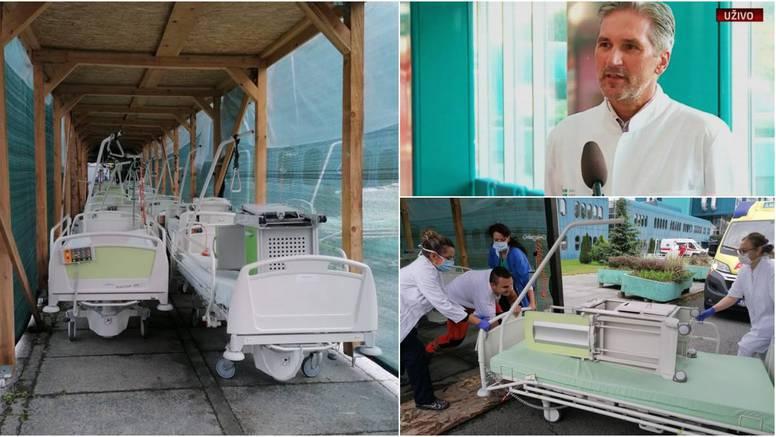 U Covid bolnici u Dubravi završava sve više mlađih ljudi s teškim simptomima bolesti