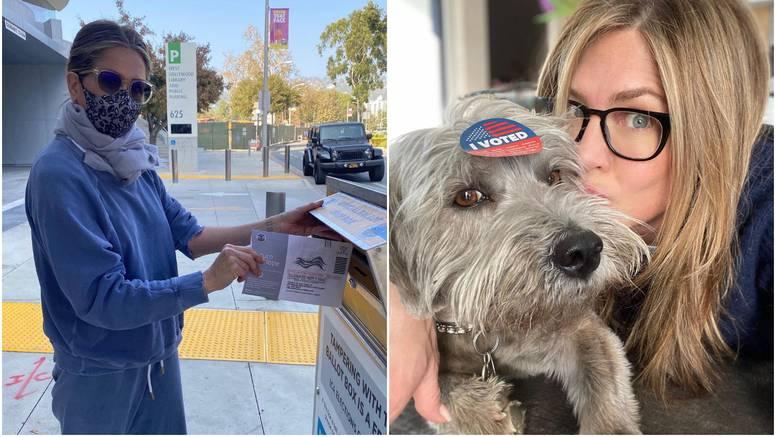 Aniston otkrila kome ide njezin glas na izborima pa poručila: Nije smiješno glasati za Kanyea