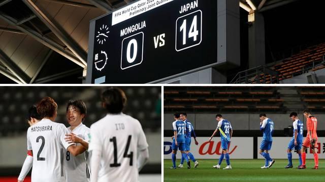 Izbili im želju za nogometom i životom: Japan pobijedio sirote Mongolce s rekordnih 14-0!