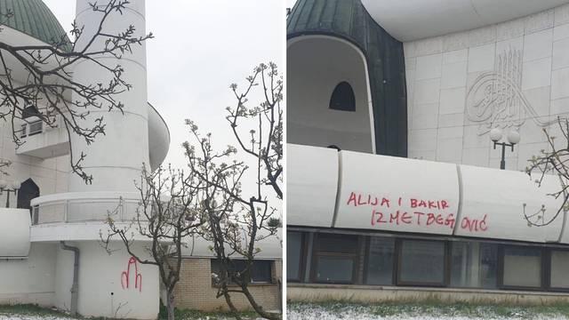 Uvredljivi grafiti na džamiji u Zagrebu: 'To su bolesni ljudi...'