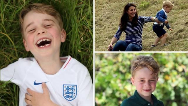 Princ George slavi 6. rođendan, Kate objavila njegove portrete