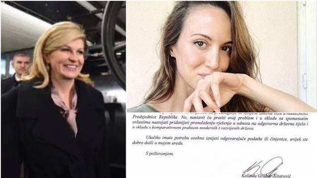 Kolinda je odgovorila Antolos: U Hrvatskoj je puno bolesnih...