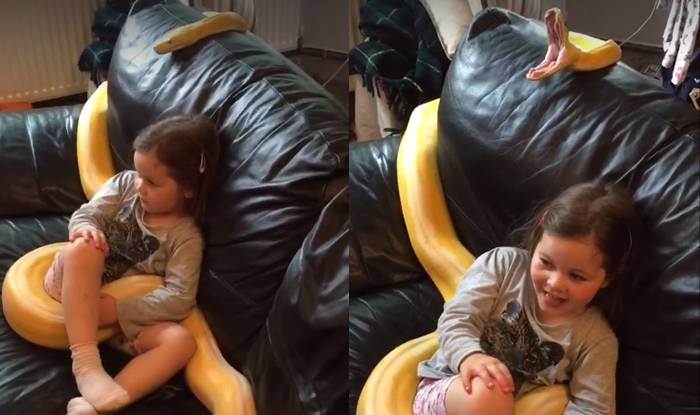 Djevojčica i piton