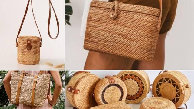 Osvježite svoj look s divnim ljetnim torbama od ratana