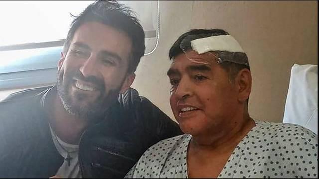 Tjedan dana prije smrti Diego je pao na glavu, nije išao u bolnicu