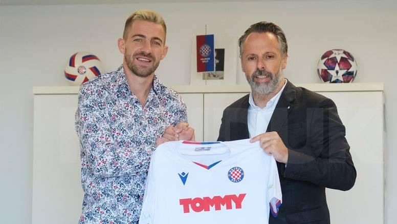 Dario Melnjak stigao u Hajduk! Nikoličius: Odbio je puno bolje financijske ponude zbog 'bilih'