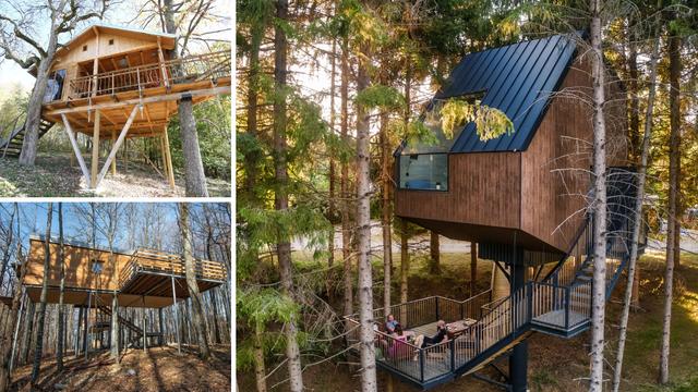 Hrvatske kućice na drvetu: One su idealne za bijeg od stvarnosti