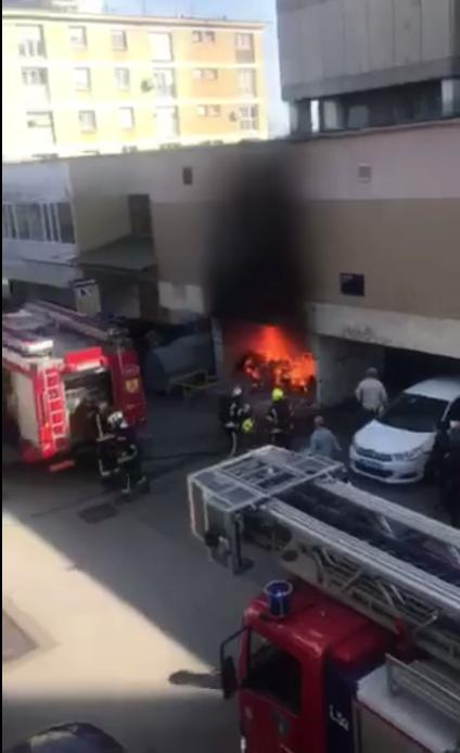 Planulo smeće u zgradi: 'Bilo je strašno, dim se jako brzo širio'