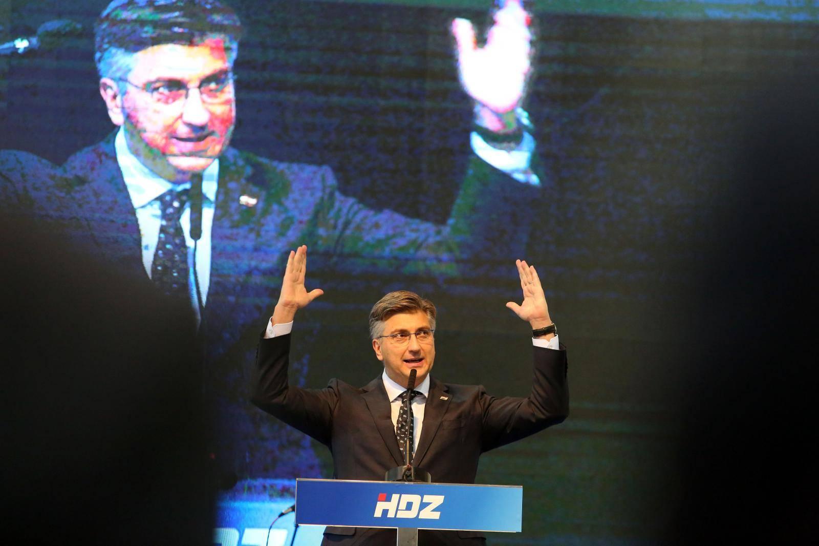 HDZ oprašta sve osim poraza. A Plenković je doživio debakl