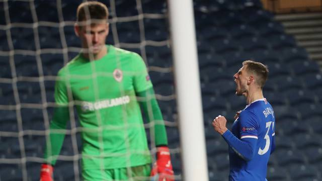 Europa League - Round of 32 Second Leg - Rangers v Royal Antwerp