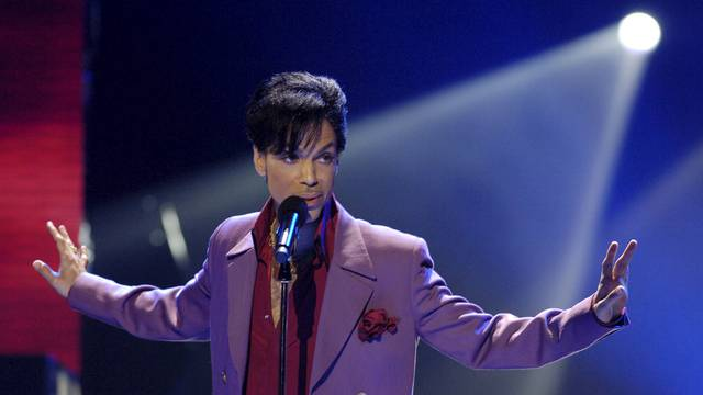 "Prince performs during ""American Idol"" finale at Kodak Theater in Hollywood"