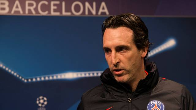 Football Soccer - Paris St Germain news conference - UEFA Champions League