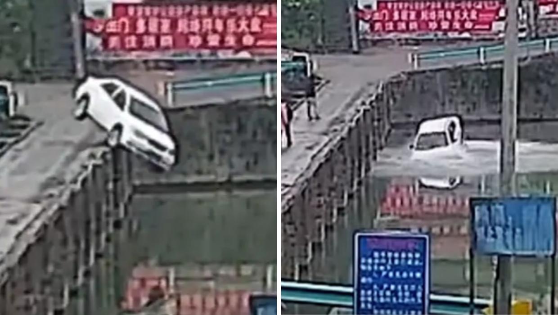 Položio vozački, zabuljio se u mobitel pa 'parkirao' u rijeku