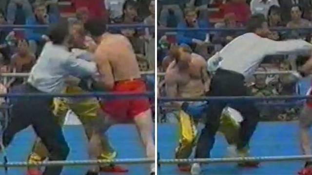 Moje je da ga pošaljem na pod: Brutalni Cikatićev nokaut iz '92.
