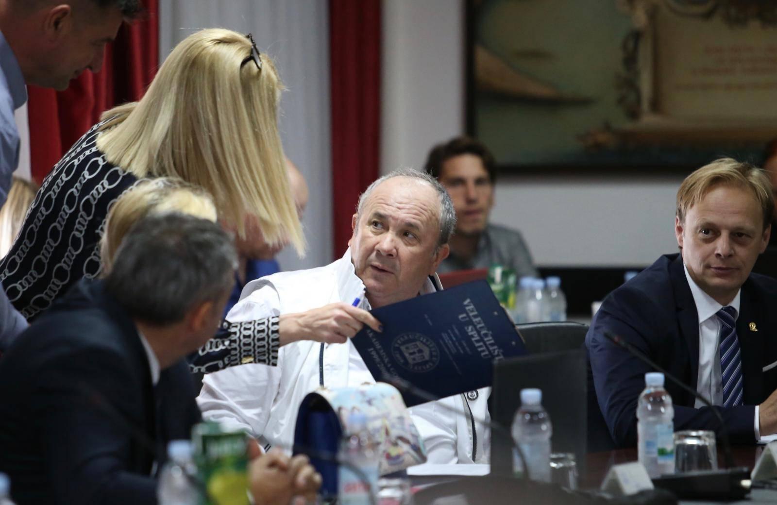 Split: Nastavljena sjednica Gradskog vijeća