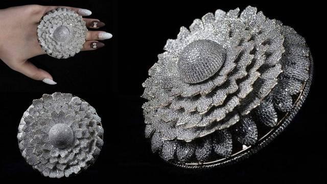 Prsten Neven dobio Guinnesa jer sadrži najviše dijamanata