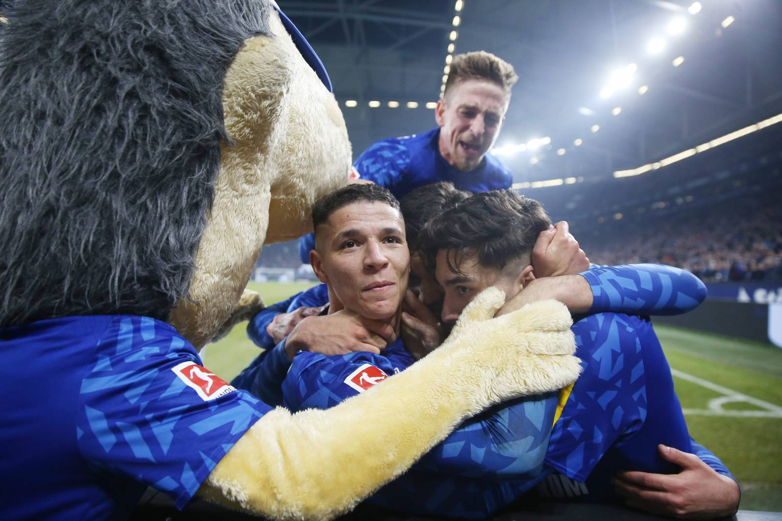 firo: 29.11.2019, Football, 2019/2020 1.Bundesliga FC Schalke 04 - Union Berlin