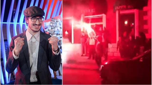 Pobjednika 'Voicea' u Čapljini su dočekali uz bakljadu i urlike