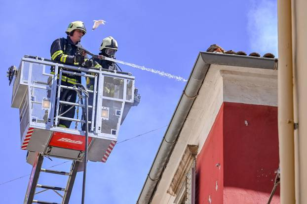 Požar u Zadru i dalje aktivan, Poluotok u opasnosti