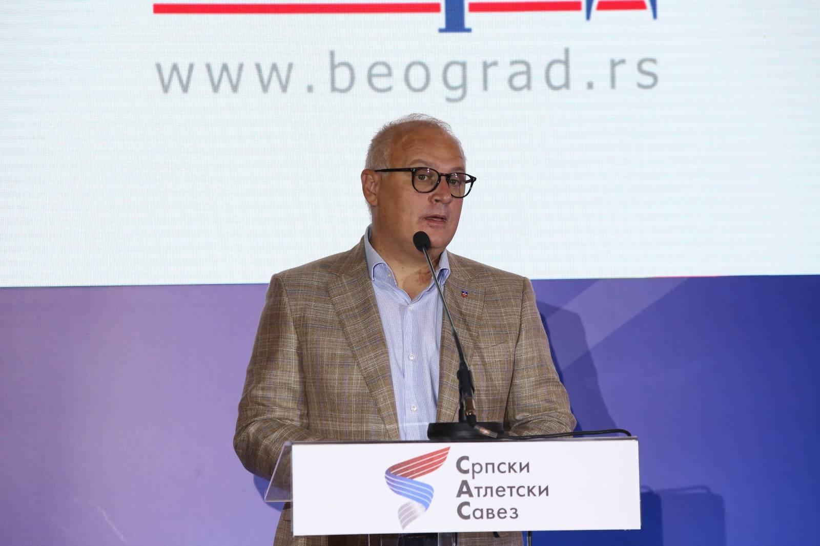 Beograd: Održana promocija loga Svjetskog prvenstva u atletici 2022. godine