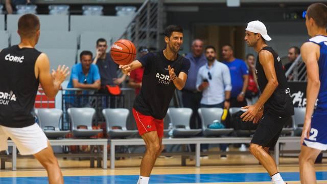 Zadar: Zvijezde Adria Toura odigrale košarku s igračima KK Zadar
