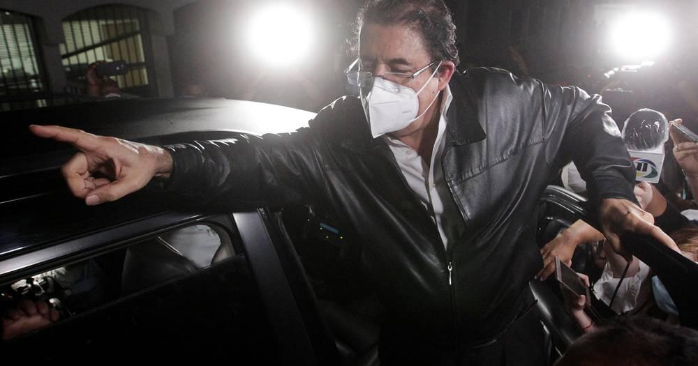 Bivšeg predsjednika Hondurasa uhitili zbog torbe pune novca