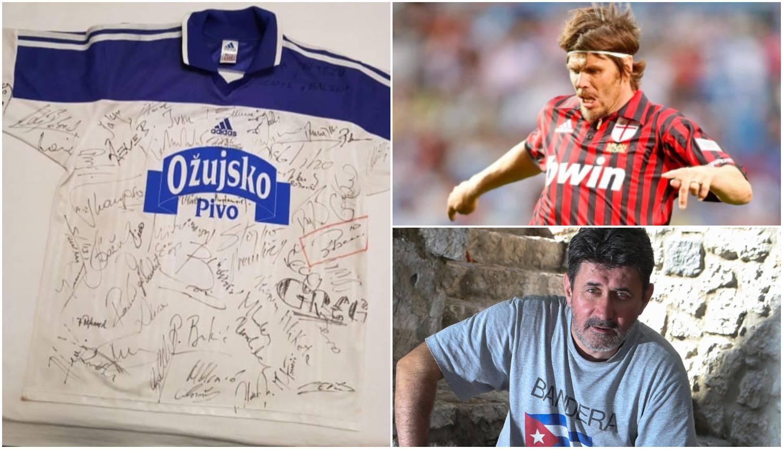 Mlikota daruje dres s Bobanove oproštajke iz 2002. za Palčiće
