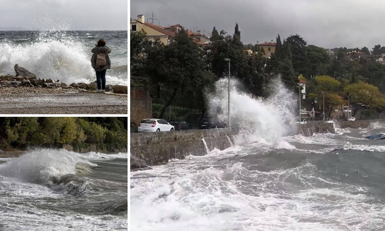 Jugo divlja: Potop u Matuljima, na Jadranu valovi od 2,5 metra
