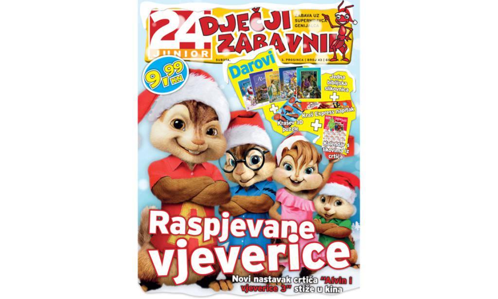 Klinci! Trk na kioske po veliki Božićni broj Dječjeg zabavnika!