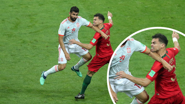 Costa je zabio iz čistog faula, a VAR rekao da je sve regularno!