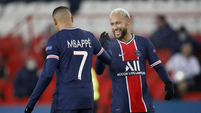 Neymar i Mbappé 'školovali' Bašakšehir u prvoj utakmici prekinutoj zbog rasizma