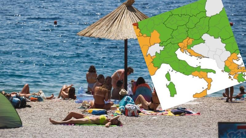 Hrvatska u narančastoj i zelenoj zoni: Premašili smo broj od 200 tisuća turista u jednom danu