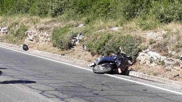 Mladić (24) završio u bolnici, kod Sukošana pao s motocikla