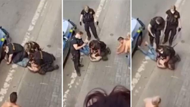 Policija držala koljeno na vratu Roma, kasnije je preminuo: 'Ubijeni Rom nije češki Floyd'